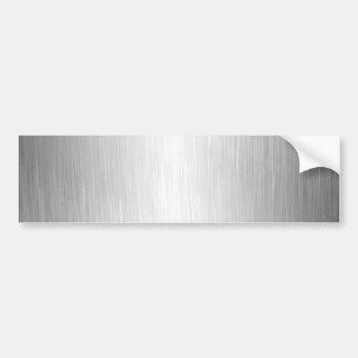 Gebürsteter Metallblick-Autoaufkleber Autoaufkleber