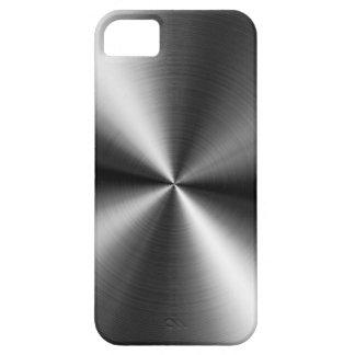 Gebürsteter MetallWirbel iPhone 5 Etuis