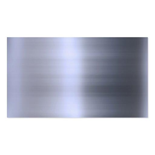 Geb rstetes silbernes metall gemasert visitenkarten zazzle - Metall visitenkarten ...