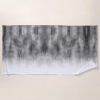 Gebürstetes Stahlgeschwindigkeits-Blick-graues Strandtuch