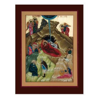 Geburt Christi der Christus-Gebets-Karte Postkarte