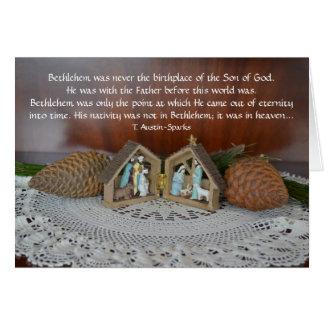 Geburt Christi… Gruß-Karte Grußkarte