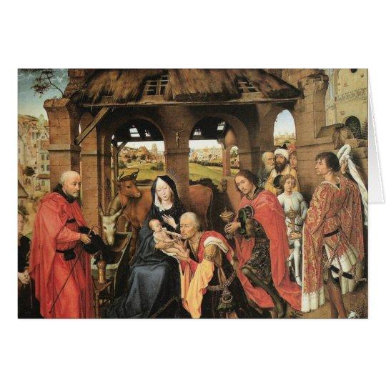 Geburt Christi Grußkarte