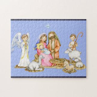 Geburt Christis-Szenen-Weihnachtspuzzlespiel