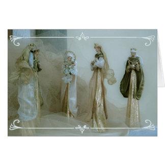Geburt Christisszenen-Weihnachtskarte Grußkarte