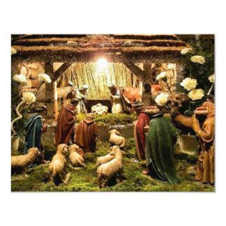 Geburt Christisszeneneinladung 10,8 X 14 Cm Einladungskarte