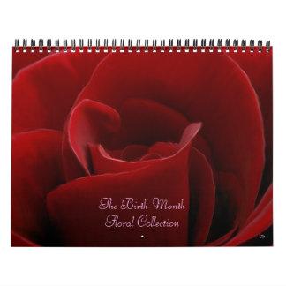 Geburt-Monat Blumenkalender Wandkalender
