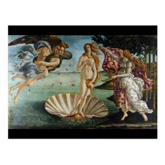 Geburt von Venus durch Botticelli Postkarte