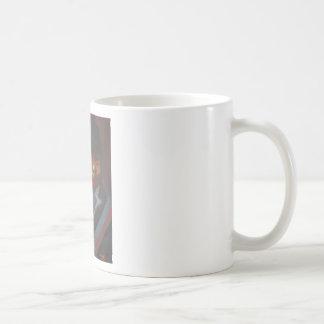 Gebürtige Streifen Kaffeetasse