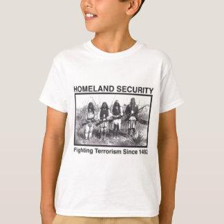 Gebürtiger Amerikaner-heimat-Sicherheits-T - T-Shirt