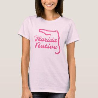 Gebürtiger rosa FloridaT - Shirt Floridas