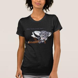 Gebürtiger Schnee-Leopard-T - Shirt