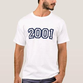 Geburtsjahr-T - Shirt 2001