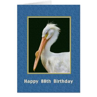 Geburtstag, 88., amerikanischer weißer karte