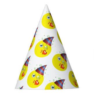 Geburtstag Emoji Muster Partyhütchen