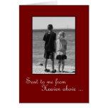 Geburtstag für Ehemann - wahre Liebe Grußkarte