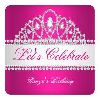 Geburtstag Prinzessin-Fuchsia White Diamond Tiara
