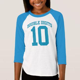 GEBURTSTAG T-Stück zweistellige Zahlen UNI-#10 T-Shirt