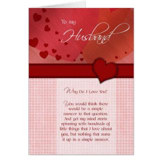 Geburtstag - zu meinem Ehemann Karte