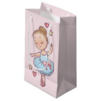 Geburtstags-Ballett-kleine Ballerina-Mädchen-u. Kleine Geschenktüte