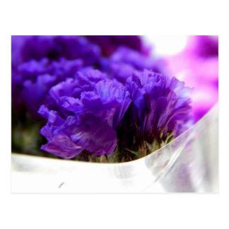 Geburtstags-Blumen 3 Postkarte