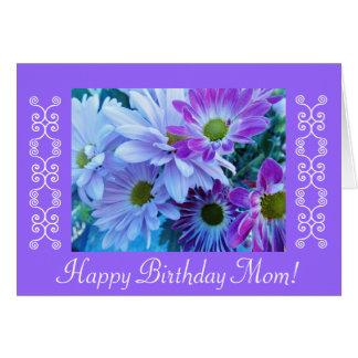 Geburtstags-Blumen der Mammas Grußkarte