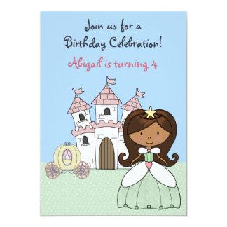 Geburtstags-Einladung Prinzessin-Märchen