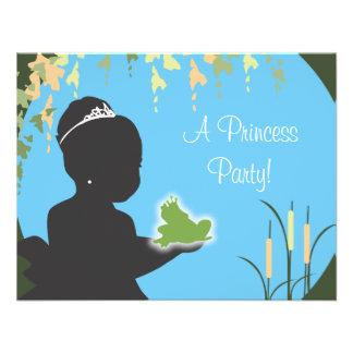 Geburtstags-Einladung - Prinzessin u Frosch