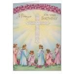 Geburtstags-Gebete von den Engeln Karte