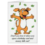 Geburtstags-Geld-Karte