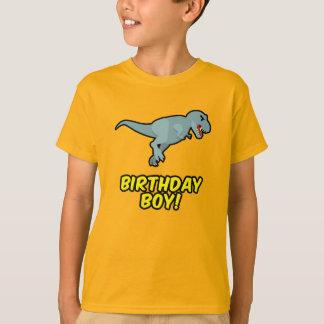 Geburtstags-Jungen-Dinosaurier-T-Shirt - T-Shirt