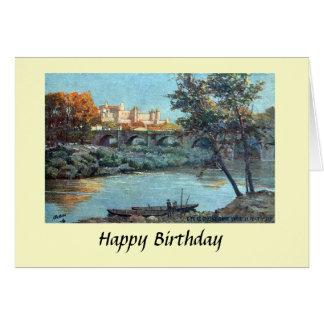 Geburtstags-Karte - Carcassonne, Aude, Frankreich Karte
