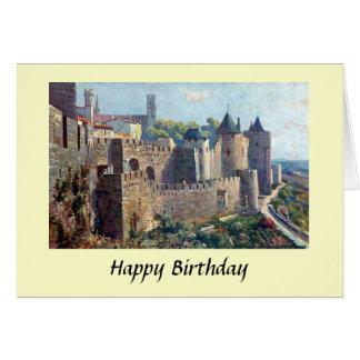 Geburtstags-Karte - Cité De Carcassonne, Karte