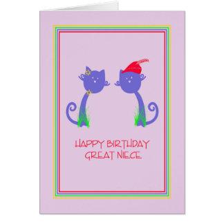Geburtstags-Karte für große Nichte Grußkarte
