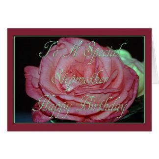 Geburtstags-Karte für Stiefmutter Karte