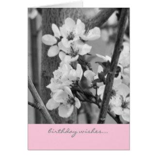 Geburtstags-Karte - Geburtstags-Wünsche Karte