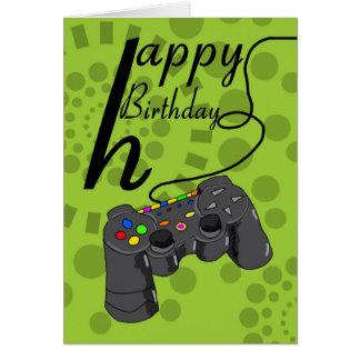 Geburtstags-Karte - generische Karte