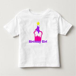 Geburtstags-Mädchen-T - Shirt