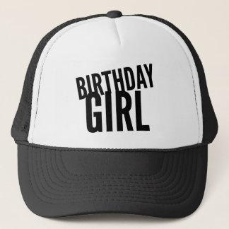 Geburtstags-Mädchen Truckerkappe