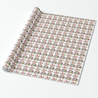 Geburtstags-MäuseCartoon-Verpackungspapier Geschenkpapierrolle