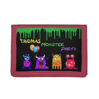 Geburtstags-Monster-Party-personalisierte