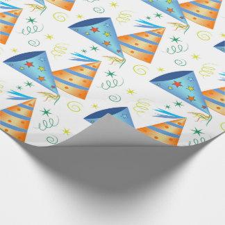 Geburtstags-Packpapier Geschenkpapierrolle