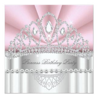 Geburtstags-Party 2 Prinzessin-Pink White Diamond
