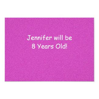 Geburtstags-Party Einladung, doppelseitiges, 12,7 X 17,8 Cm Einladungskarte