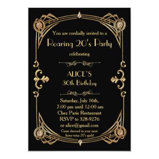 Geburtstags-Party Einladung irgendein Alter,