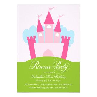 Geburtstags-Party Einladung Prinzessin-Party  