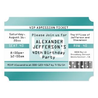 Geburtstags-Party-Karten-geformte Einladungen 12,7 X 17,8 Cm Einladungskarte
