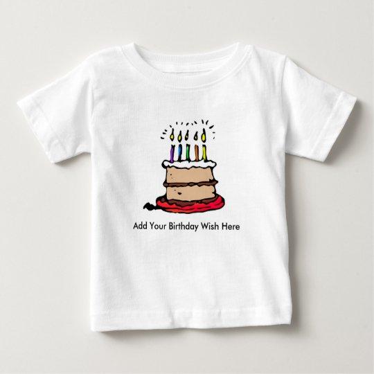 Geburtstags-Shirt Baby T-shirt