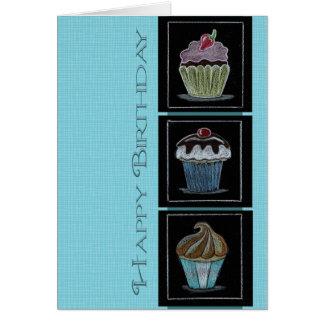 Geburtstags-Süßigkeiten Notecard Karte