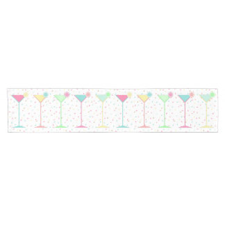 Geburtstags-Tabellen-Läufer, Confetti färbte Kurzer Tischläufer